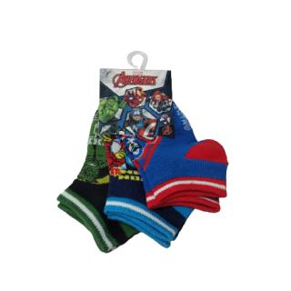 Set de medias para niños Avengers