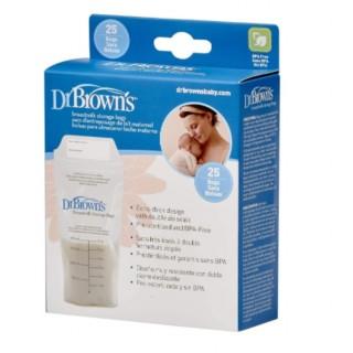 Bolsas para almacenar leche materna