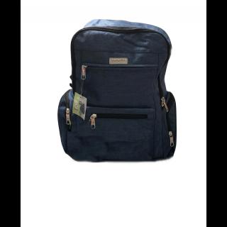Pañalera mochila moda deluxe Azul