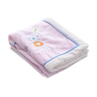 Cobija para bebé rosada Kobytin