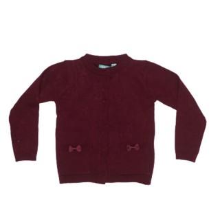 Sweater con bolsas vino meses