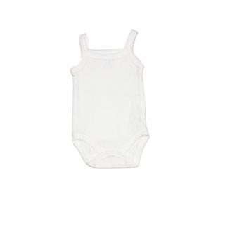 Body para bebé niña blanco