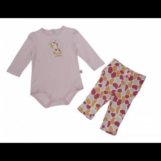 Pijama 2 piezas jirafa para niña Bon Bebé