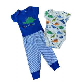 Set de 3 piezas para bebé dinosaurios Tiny Tots