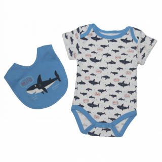 Conjunto 2 piezas tiburones