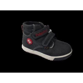 Zapato para niño Fisher Price negro caña alta