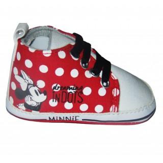 Tenis rojo - blanco puntos Minnie dreaming