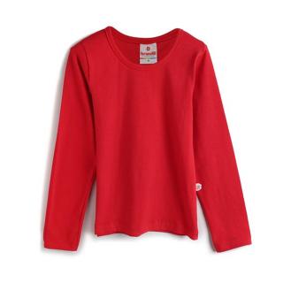 Blusa manga larga roja Brandili