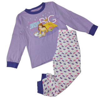 Pijama para niña Princesa Bella