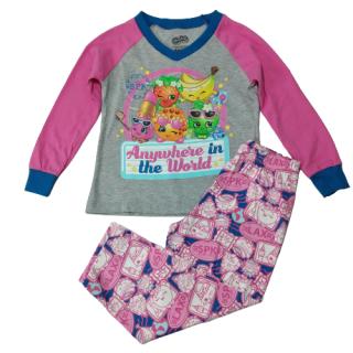 Pijama para niña shopkins