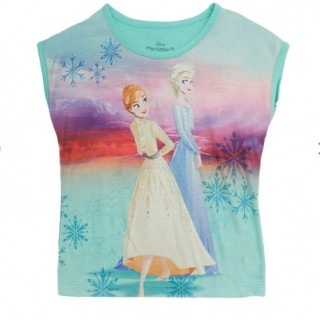 Blusa para niña Frozen de Ana y Elsa