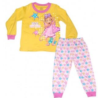 Pijama manga larga Fancy Nancy estrellas