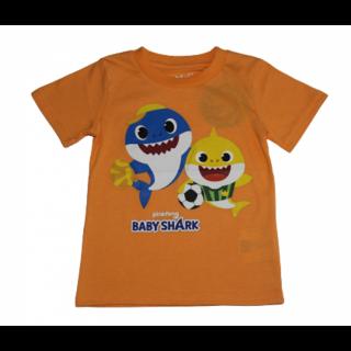 Camisa Baby Shark naranja