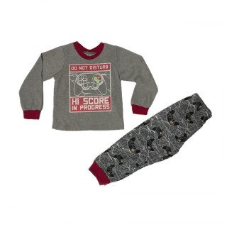 Pijama gris Play Station