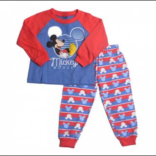 Pijama Mickey Mouse azul/rojo