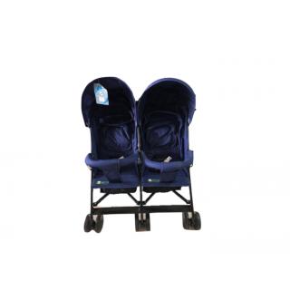 Coche gemelos azul