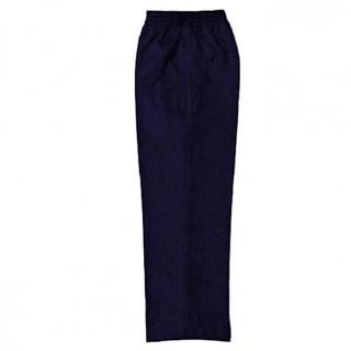Pantalon con elastico azul marino Escolar niño KLASS