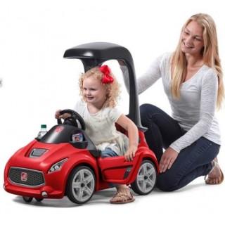 Carro Montable Turbo Coupé Pies al Suelo Rojo 1½-5 años