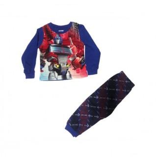 Pijama manga larga azul/rojo Transformers