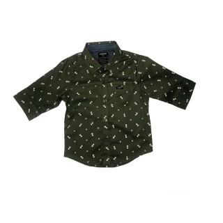 Camisa verde olvida estampada
